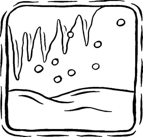 icicle coloring pages printable icicle template pages icicle coloring