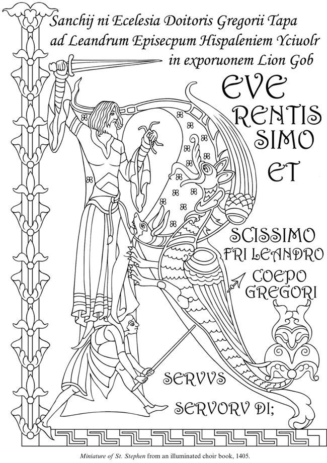 illuminated manuscript alphabet coloring pages image result for medieval illuminations to color illuminated coloring manuscript alphabet pages