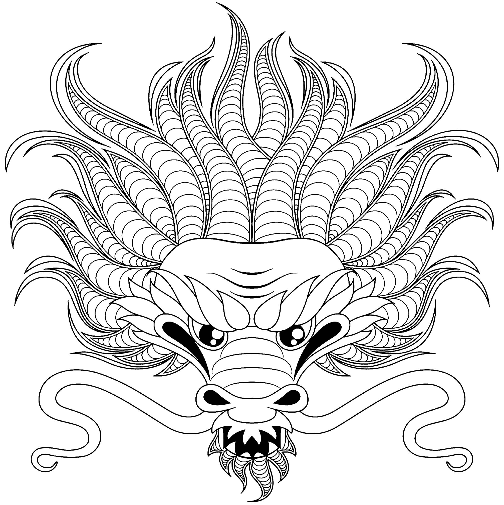 images of dragons to color chinese dragon coloring pages to download and print for free color to of dragons images