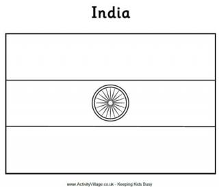 india flag coloring page india flag printables page coloring flag india