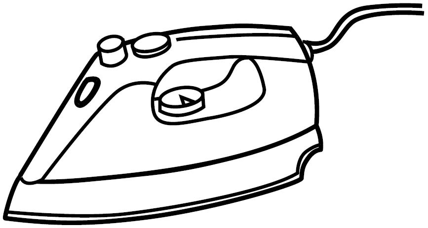 Iron coloring page