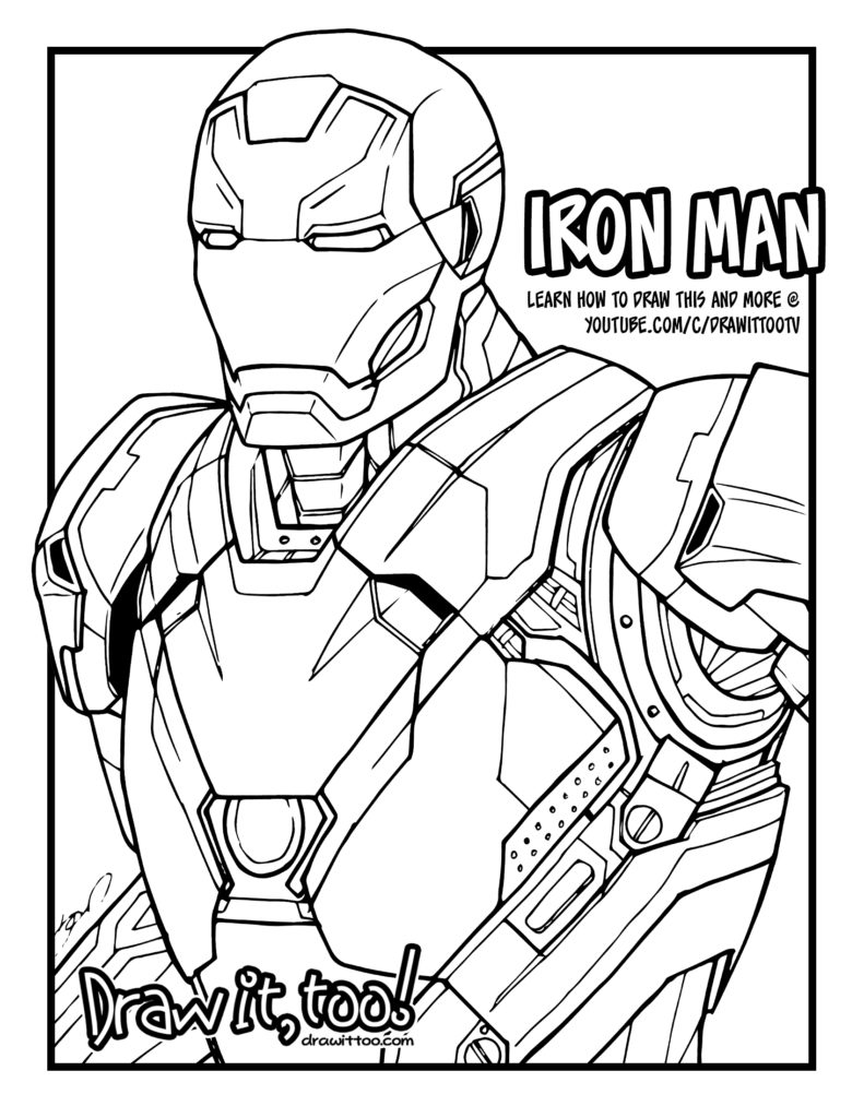 iron coloring page i for iron coloring page with handwriting practice page coloring iron