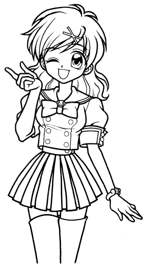 japanese anime girl coloring pages 8 anime girl coloring pages pdf jpg ai illustrator coloring anime japanese pages girl