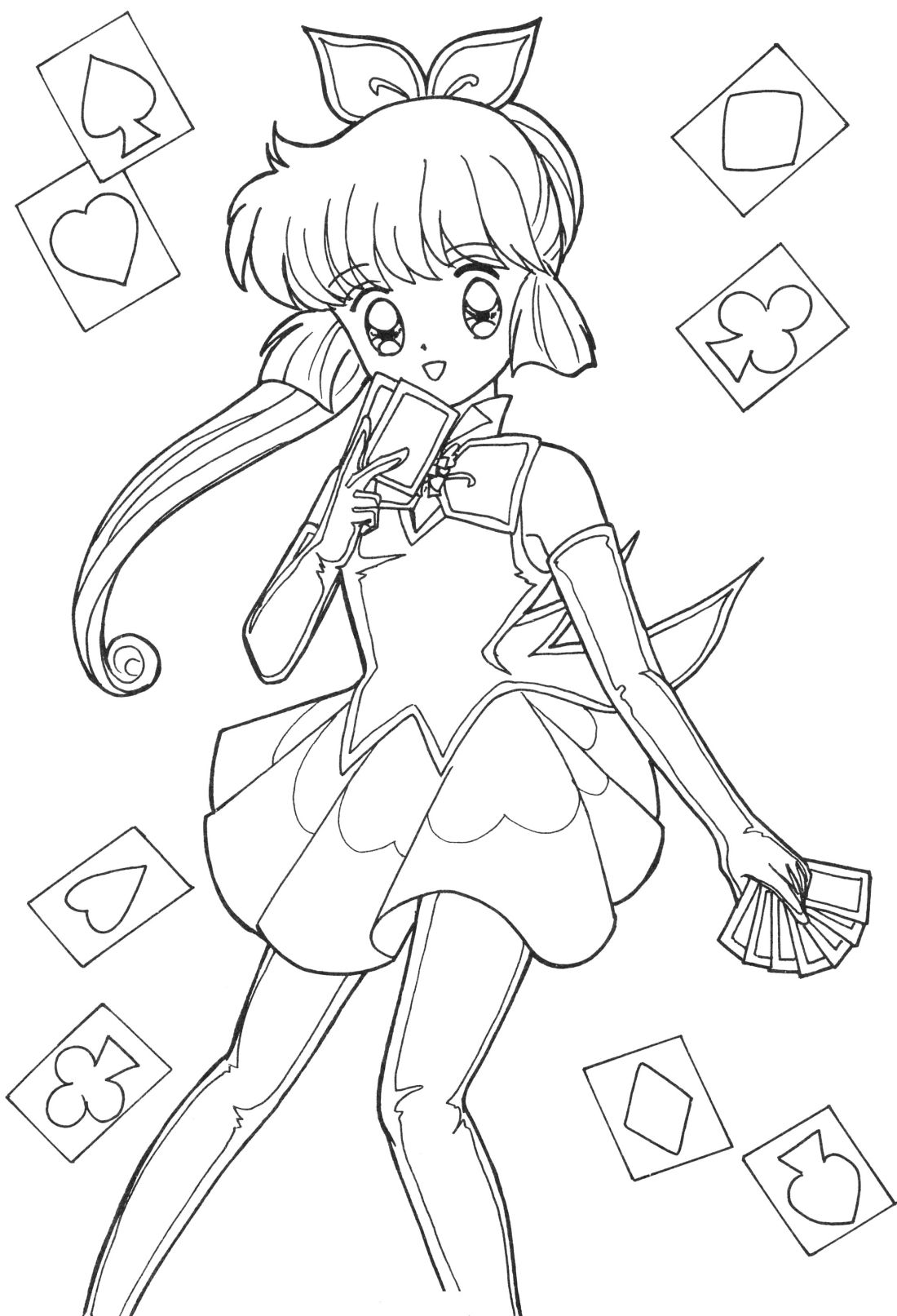 japanese anime girl coloring pages anime lineart vintage coloring books coloring book art pages anime girl japanese coloring