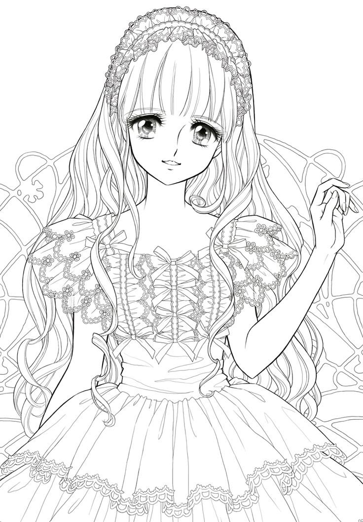 japanese anime girl coloring pages coloring pages for girls anime coloring book pages girl pages coloring japanese anime