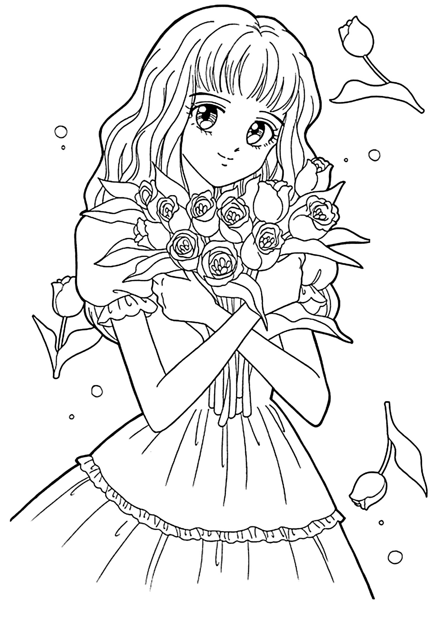 japanese anime girl coloring pages this photo was uploaded by khateerah japanese anime coloring girl japanese anime pages