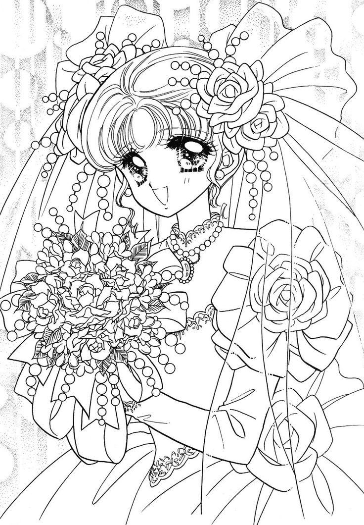 japanese anime girl coloring pages vintage shojo coloring book p6 nurie kawaii coloring girl coloring pages anime japanese