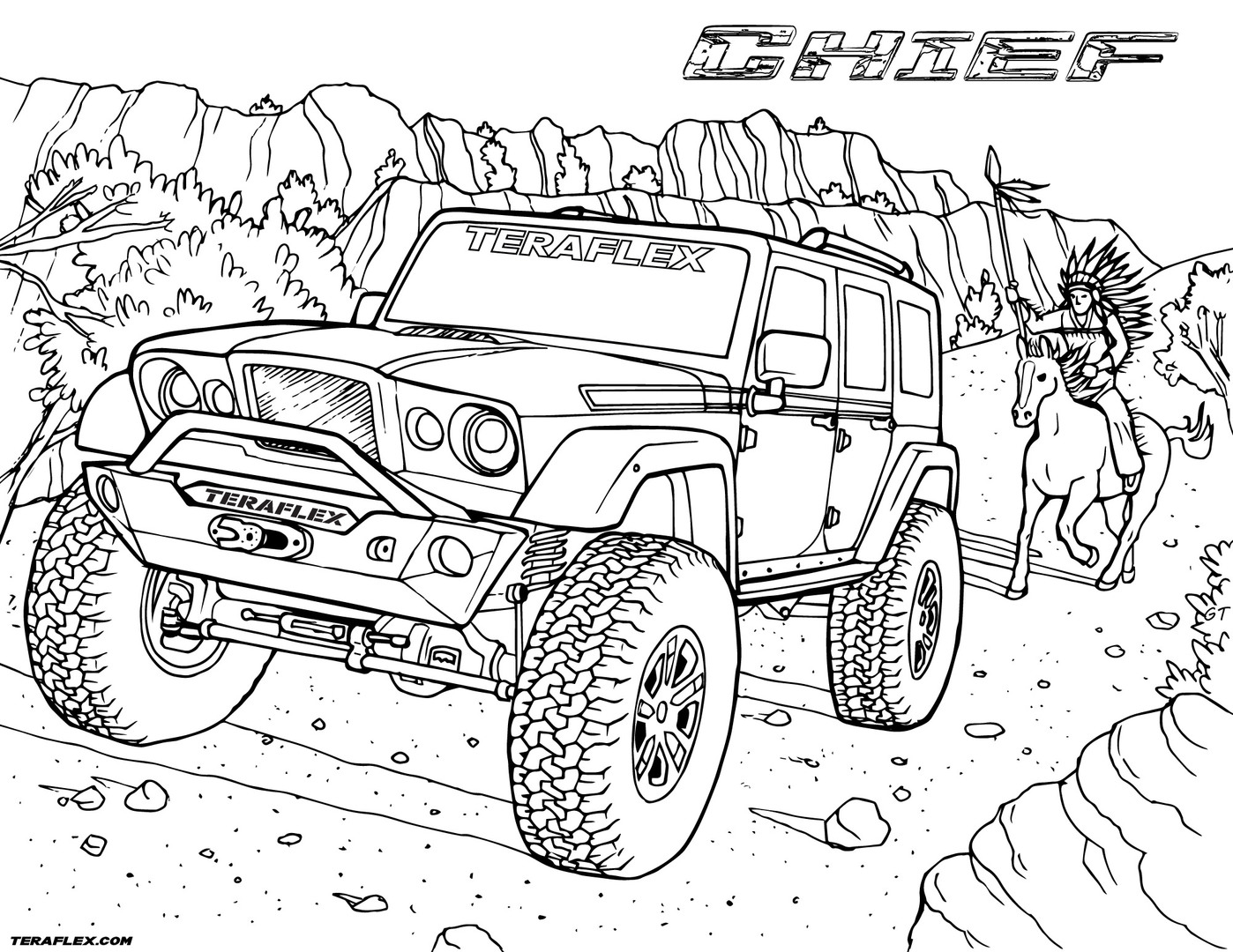 jeep coloring pages free jeep coloring pages to print coloring jeep pages