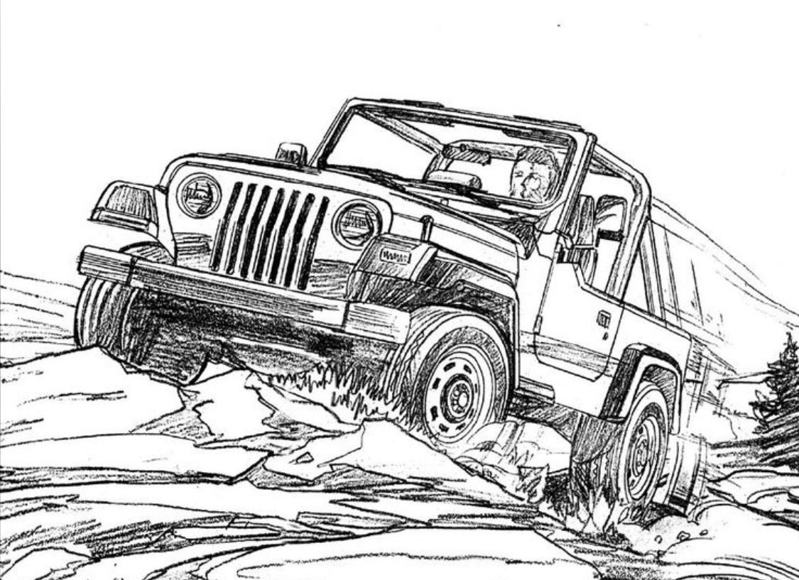 jeep coloring pages jeep coloring pages kidsuki jeep pages coloring