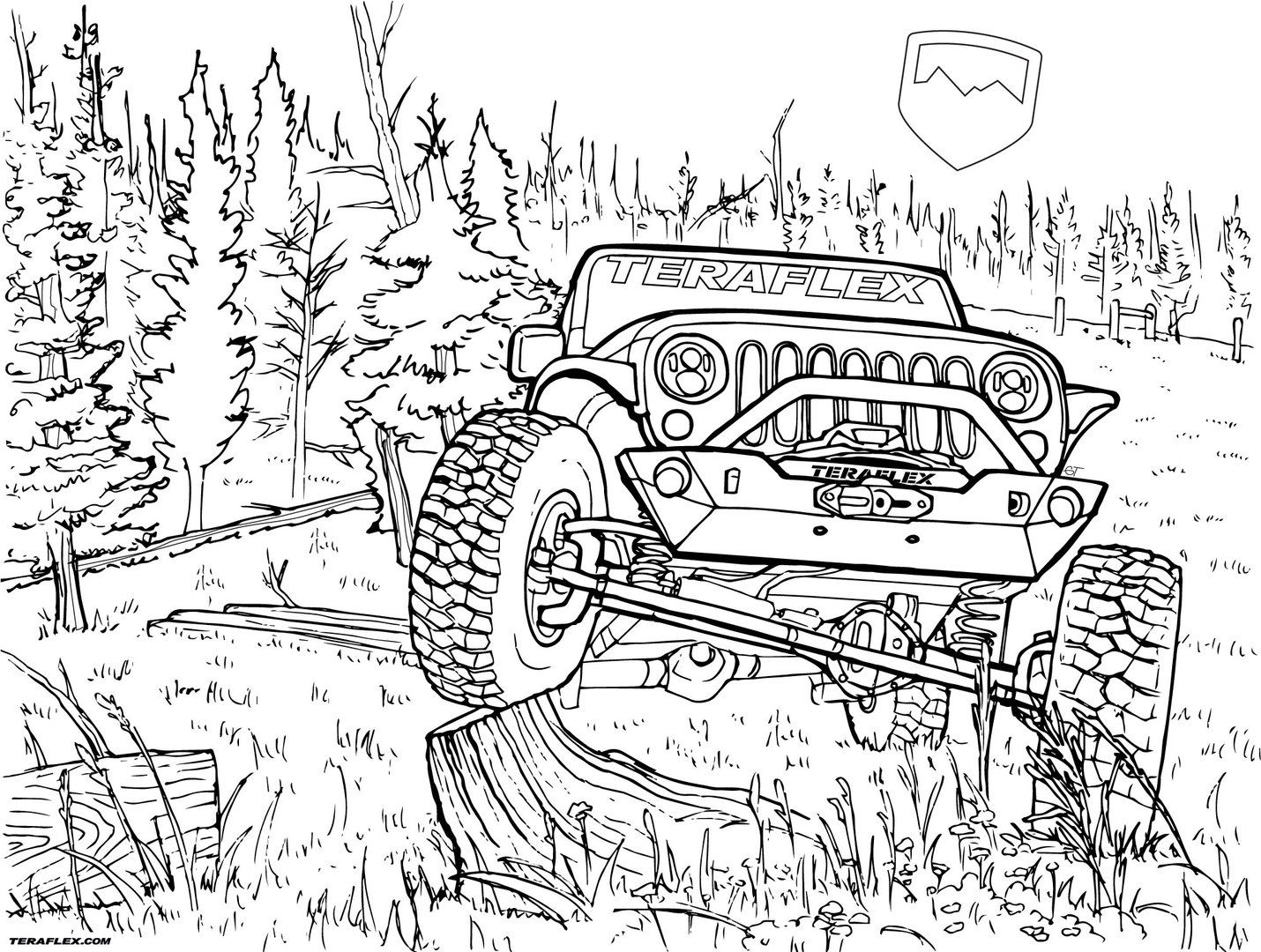 jeep coloring pages jeep coloring pages to download and print for free jeep pages coloring