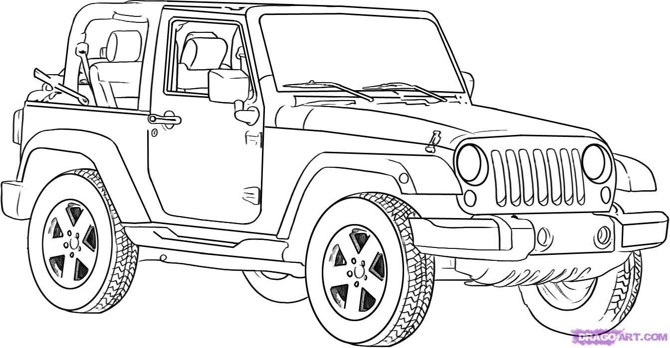 jeep coloring pages jeep wrangler unlimited coloring pages coloring pages jeep