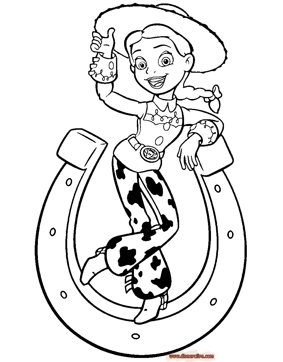jessie coloring pages jessie from toy story coloring pages coloring pages coloring jessie pages