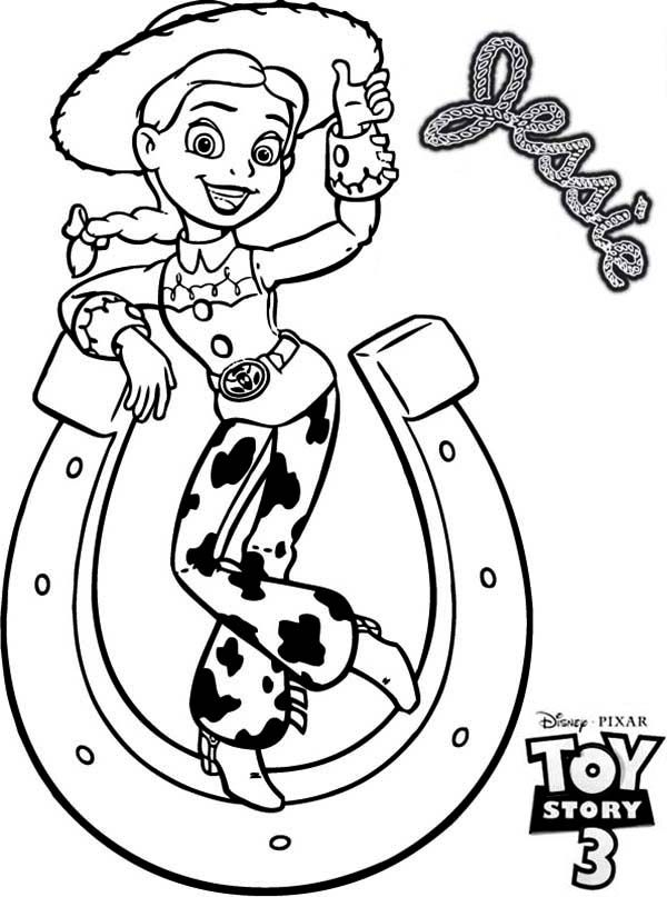 jessie coloring pages new jessie coloring page coloring pages jessie