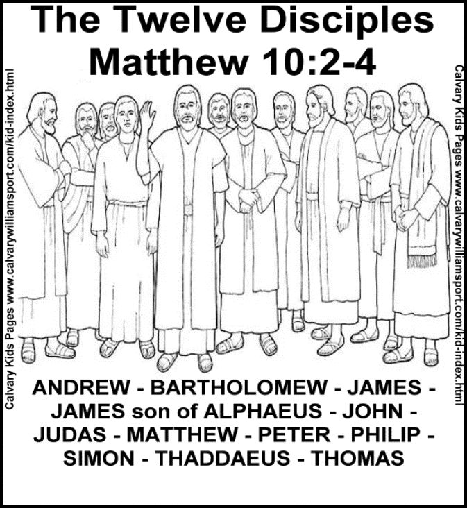 jesus and the 12 disciples coloring page disciple coloring page sunday school lessons christian page the 12 disciples jesus and coloring