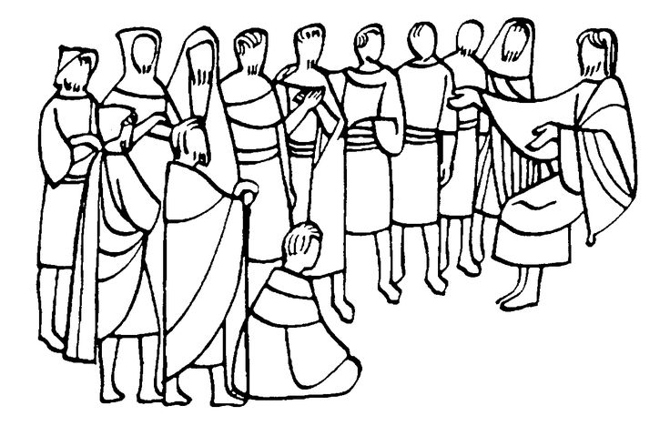 jesus and the 12 disciples coloring page jesus 12 disciples coloring page sketch coloring page disciples and the jesus 12 page coloring