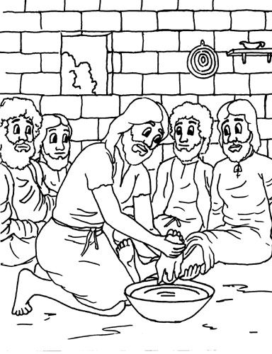 jesus washing feet coloring page jesus washing feet coloring page coloring pages sunday washing page jesus feet coloring