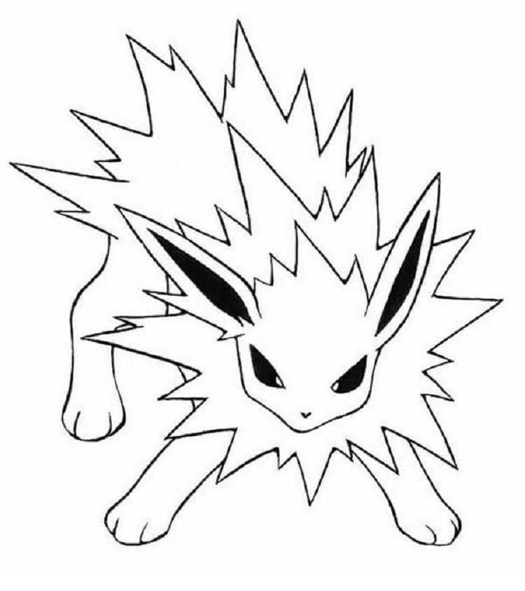 jolteon coloring pages jolteon base by fluttershy128 on deviantart coloring pages jolteon