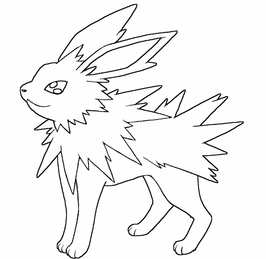 jolteon coloring pages pokemon coloring pages jolteon pokemon coloring pages pages coloring jolteon