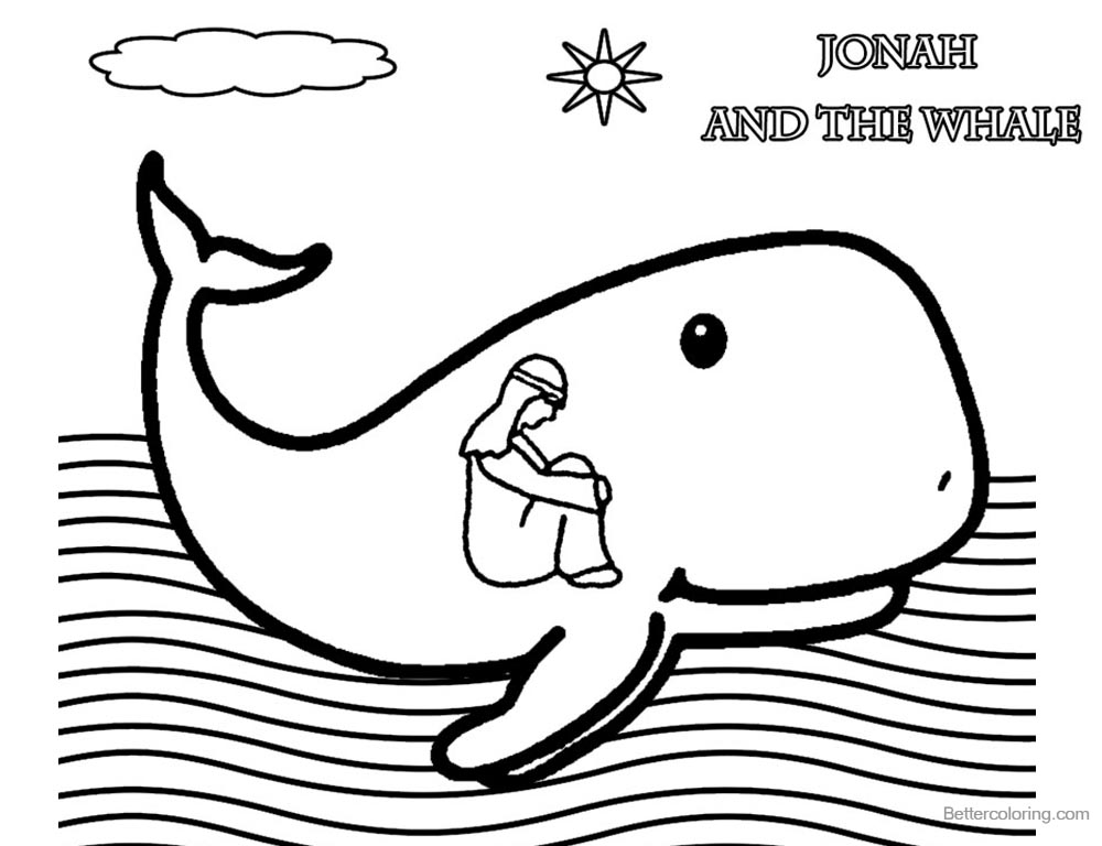 jonah and the whale colouring jonah and the whale coloring page 3 craft ideas jonah the and whale colouring