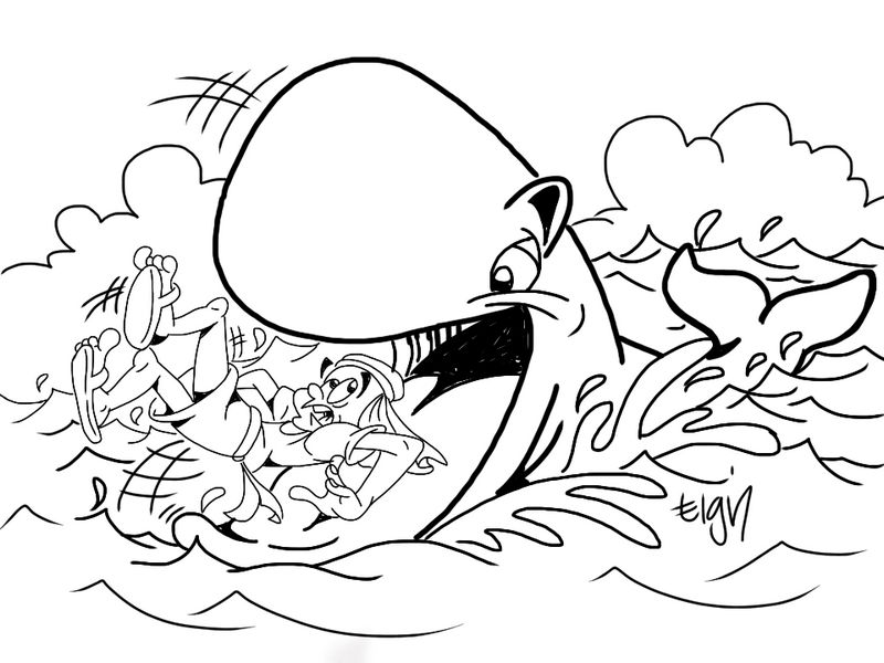 jonah and the whale colouring jonah and the whale picture coloring page netart and the jonah colouring whale