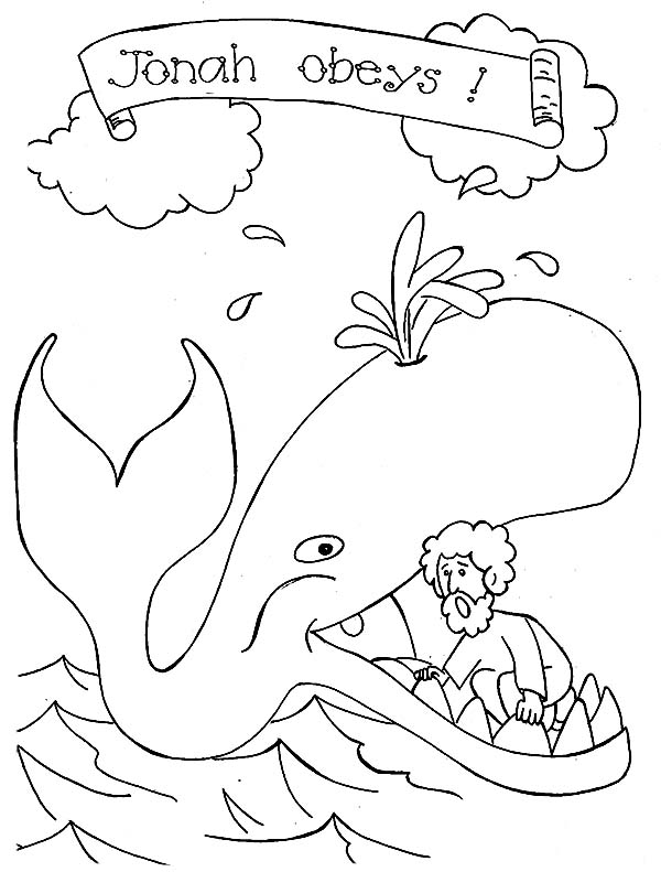 jonah and the whale colouring printable jonah and the whale coloring pages for kids jonah colouring whale and the