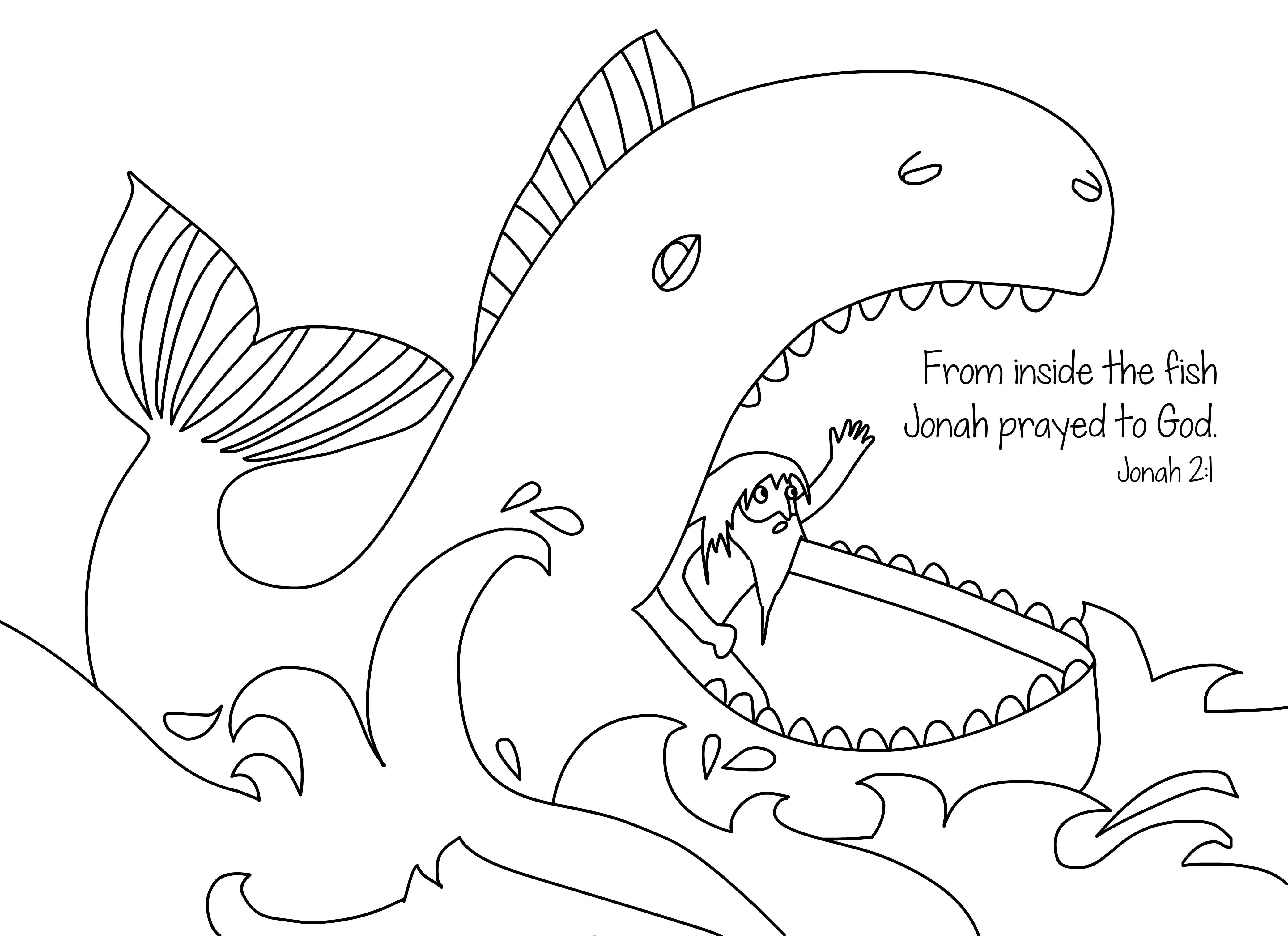 jonah coloring page jonah and the whale bible story coloring pages coloring home coloring jonah page