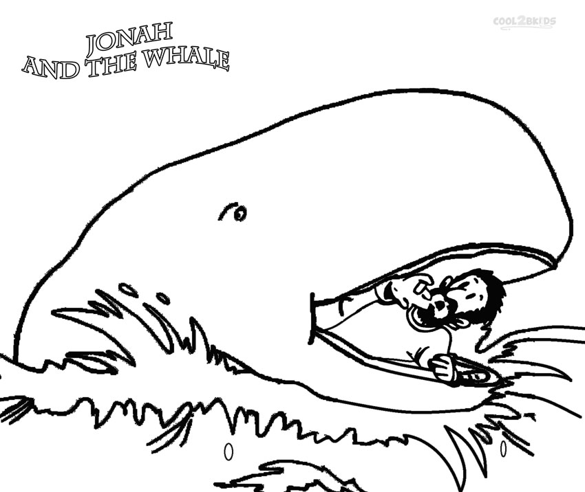 jonah the whale coloring pages free printable jonah and the whale coloring pages at coloring the jonah whale pages