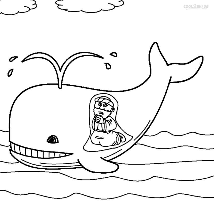 jonah the whale coloring pages printable jonah and the whale coloring pages for kids whale pages the coloring jonah