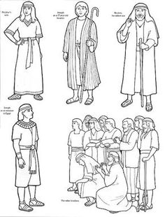 joseph shares food coloring pages joseph in egypt coloring page bible joseph pinterest joseph pages coloring food shares