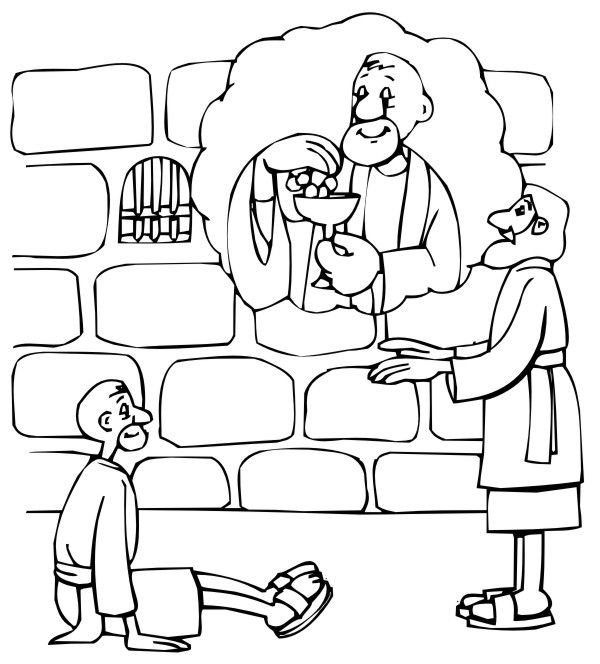 joseph the dreamer coloring pages baker39s dream with images sunday school coloring pages pages joseph the coloring dreamer