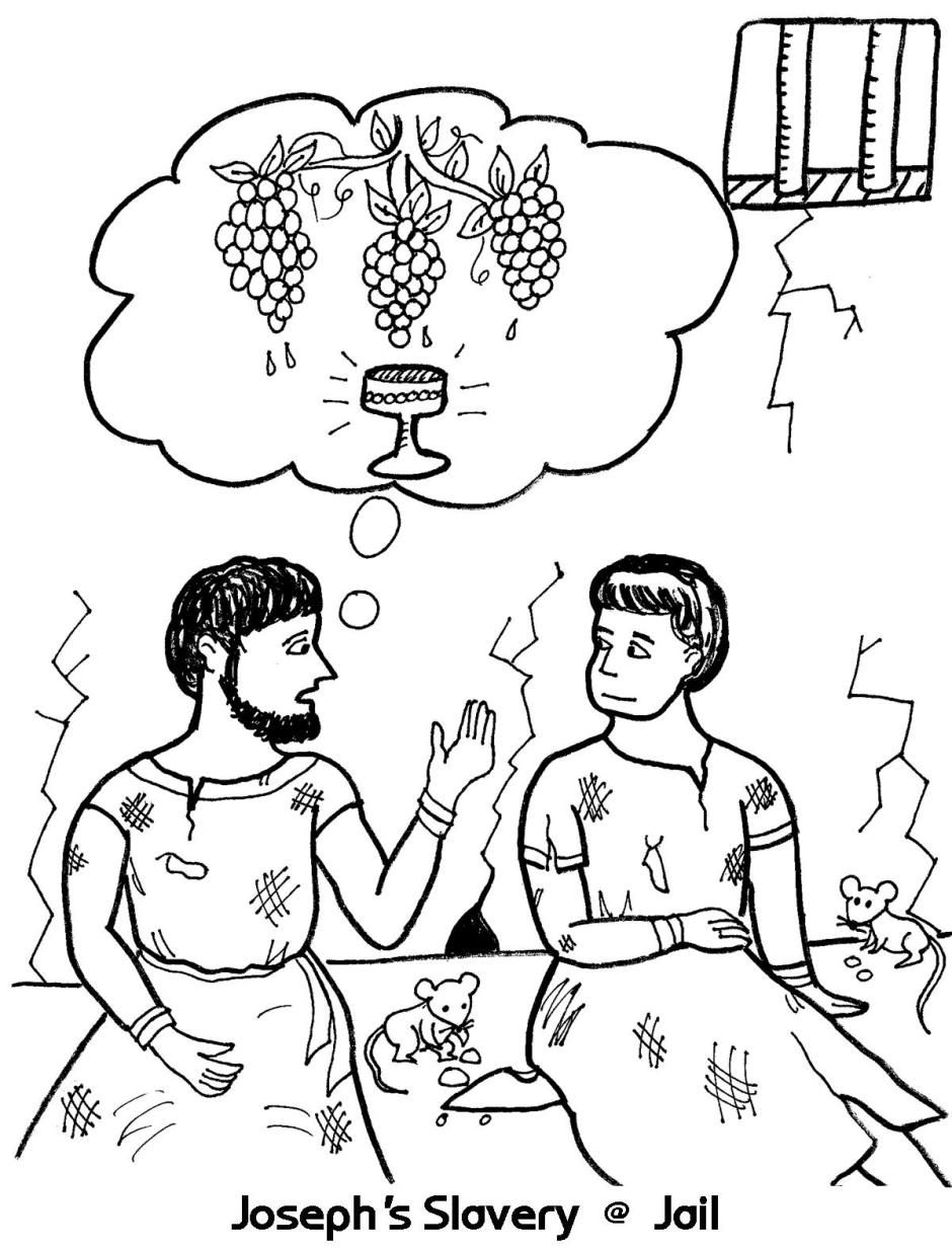 joseph the dreamer coloring pages joseph and his brothers coloring page bible coloring dreamer pages joseph the coloring