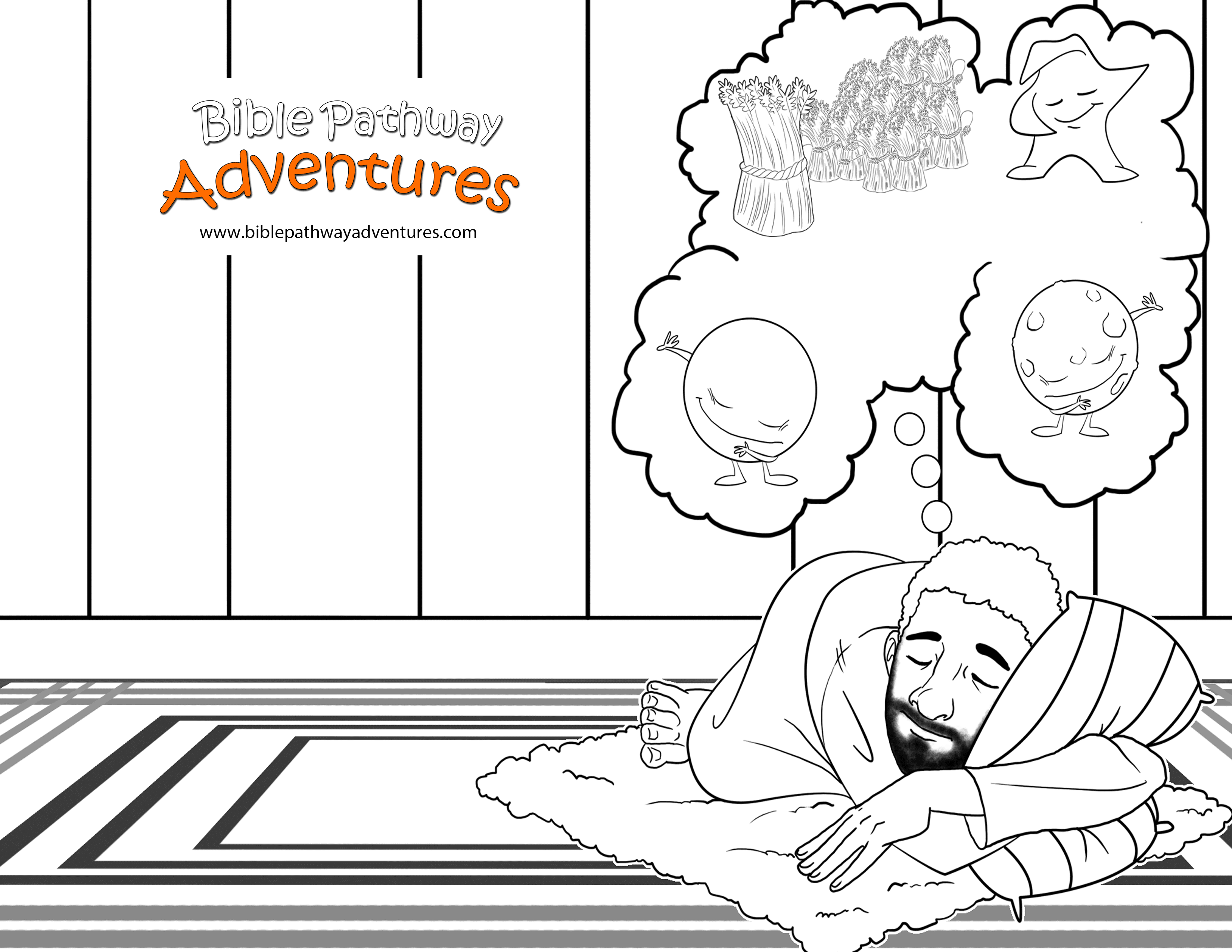 joseph the dreamer coloring pages joseph and his brothers coloring page sunday school dreamer coloring joseph the pages