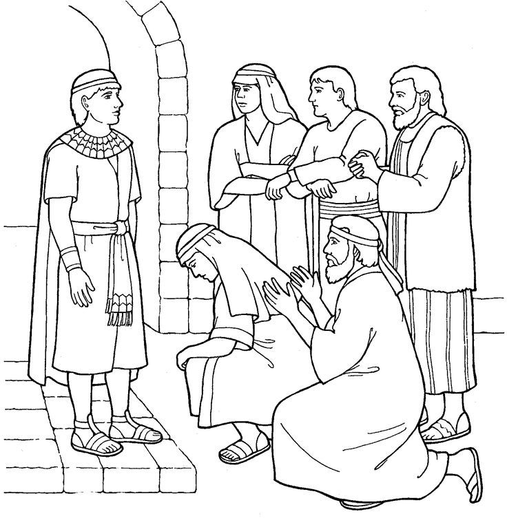 joseph the dreamer coloring pages joseph in egypt coloring page coloring pages pictures the pages dreamer joseph coloring