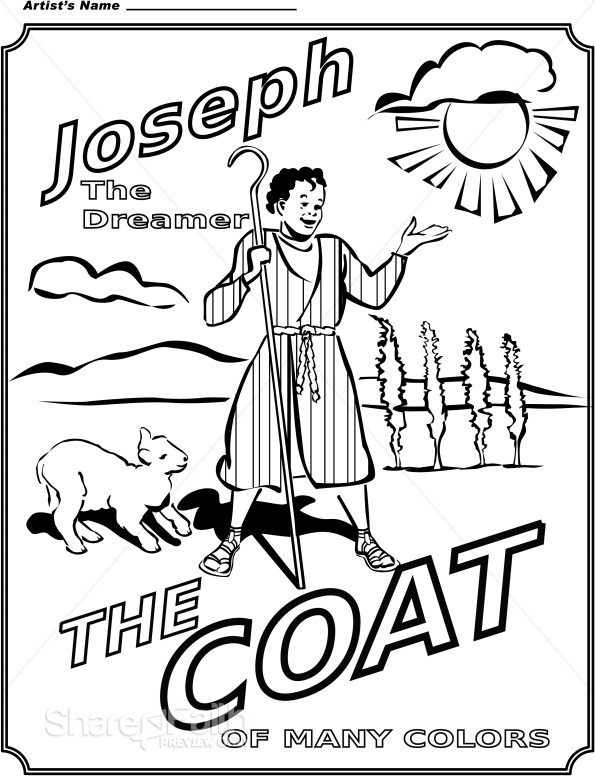 joseph the dreamer coloring pages joseph in jail and the cupbearer39s dream genesis 40 pages coloring dreamer joseph the