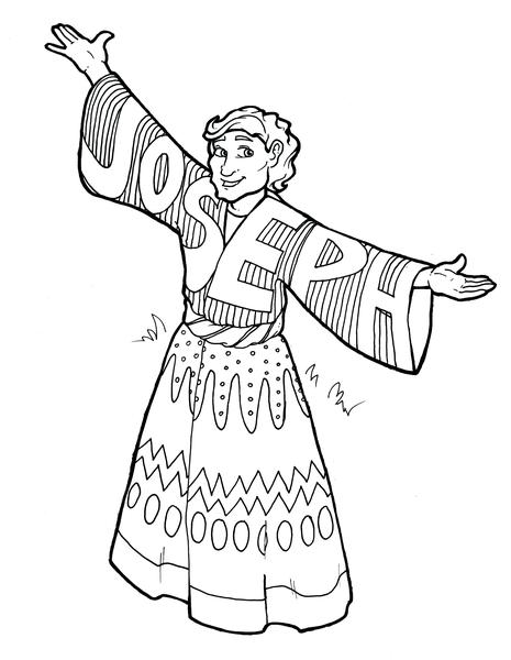 joseph the dreamer coloring pages josephs dreams bible pathway adventures dreamer joseph coloring pages the