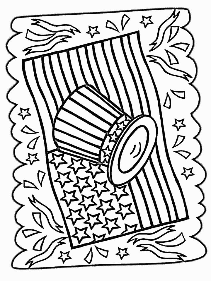 july 4 coloring pages 4th of july doodle coloring page free printable coloring july pages coloring 4