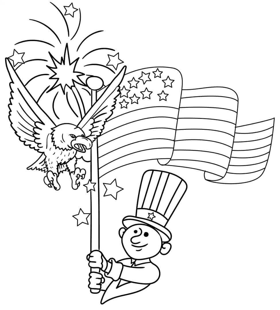 july 4 coloring pages free 4th of july coloring pages tuxedo cats and coffee pages 4 july coloring