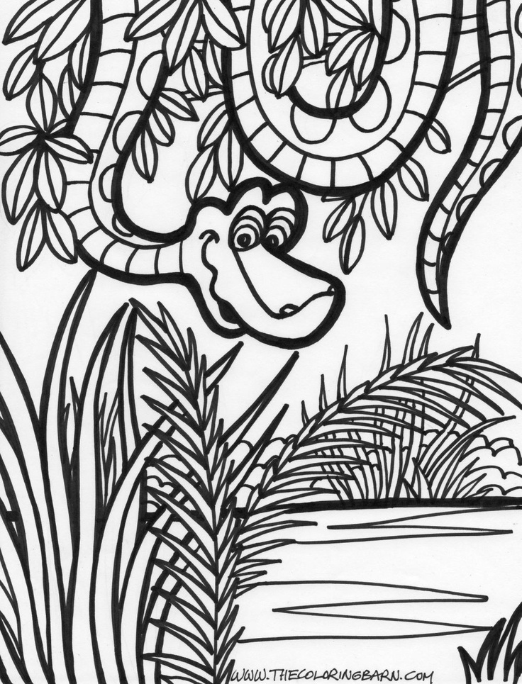 jungle coloring page free jungle coloring page free coloring daily coloring jungle page