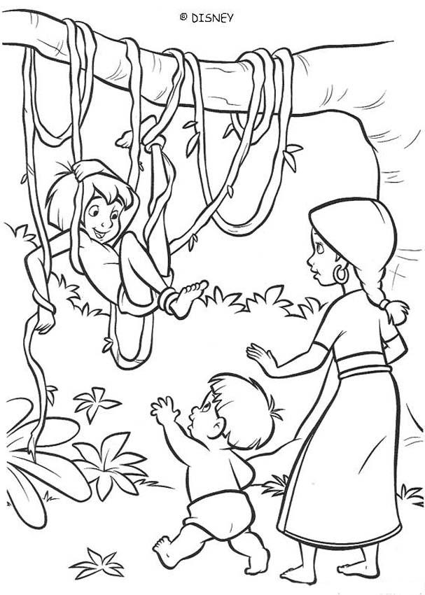 jungle coloring page jungle coloring pages to download and print for free coloring jungle page 1 1