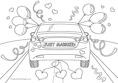 just married wedding coloring pages just married coloring pages getcoloringpagescom wedding married coloring pages just