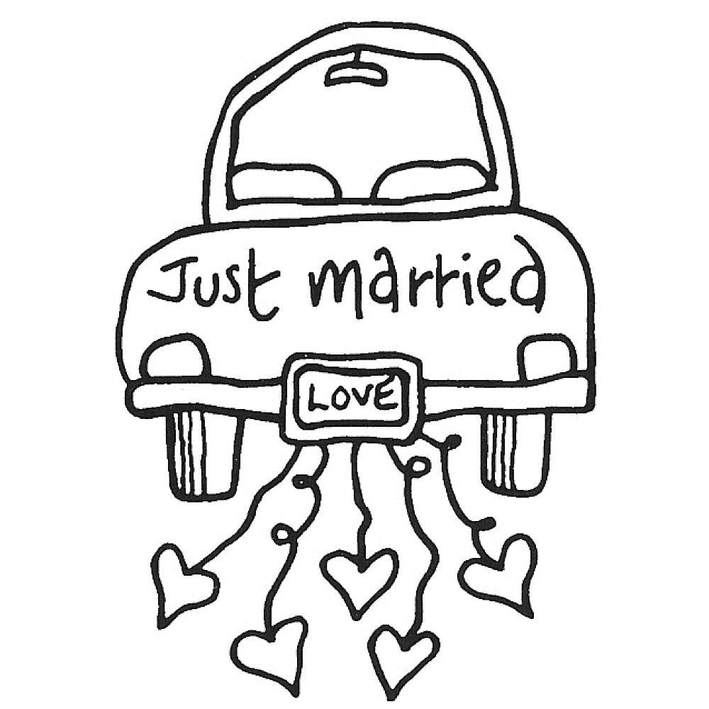 just married wedding coloring pages just married crafts wedding silhouette wedding cards wedding coloring just married pages