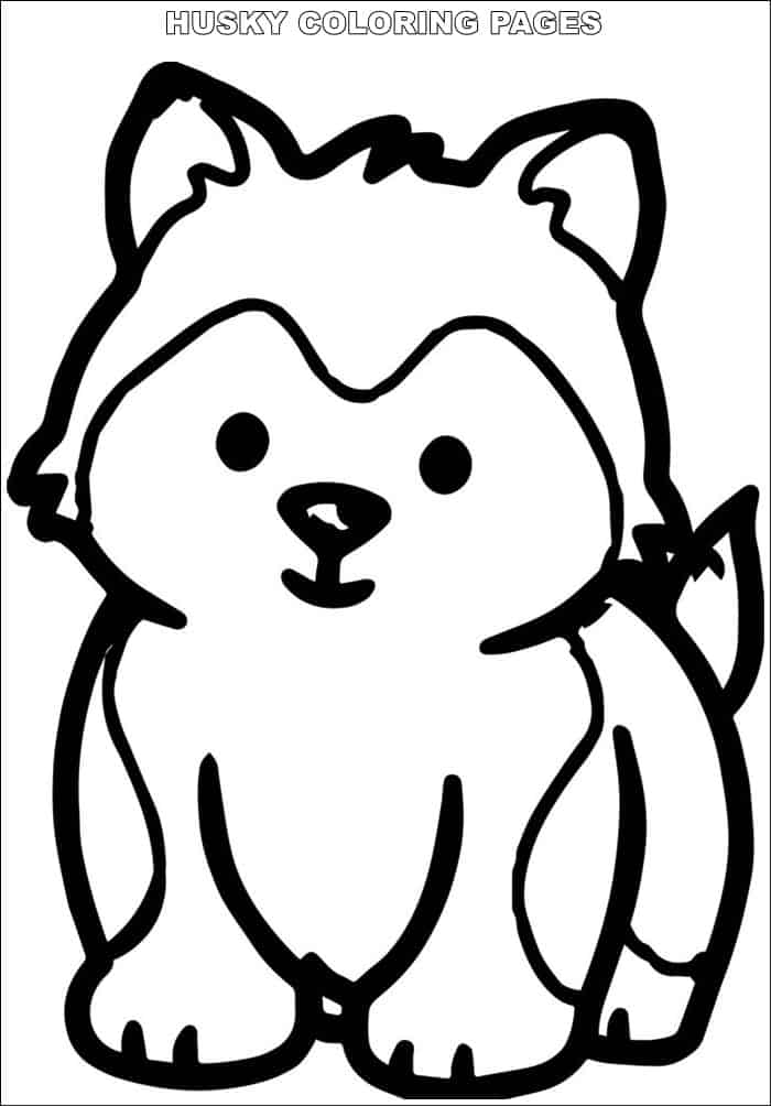 kawaii puppy coloring pages collection of fantastic husky coloring pages stpetefestorg puppy kawaii coloring pages