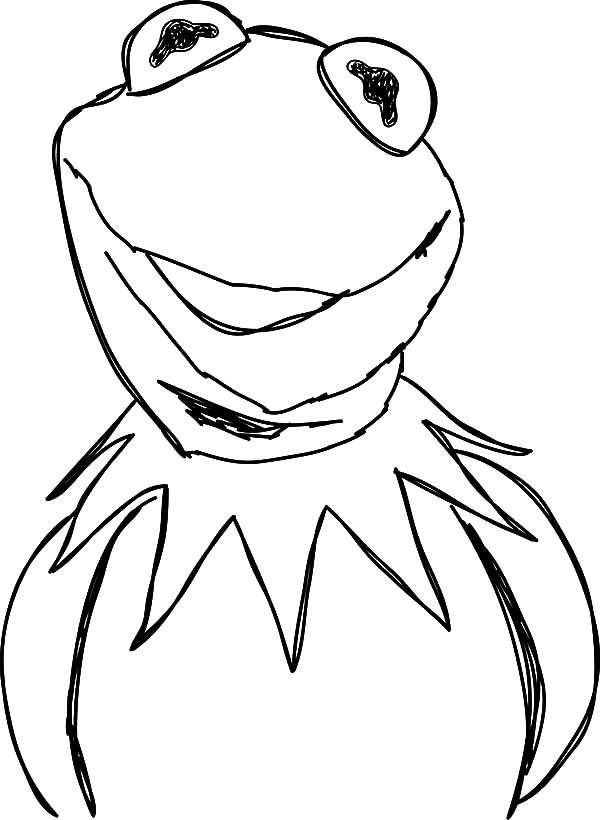 kermit coloring page the muppets movie kermit the frog coloring pages page kermit coloring