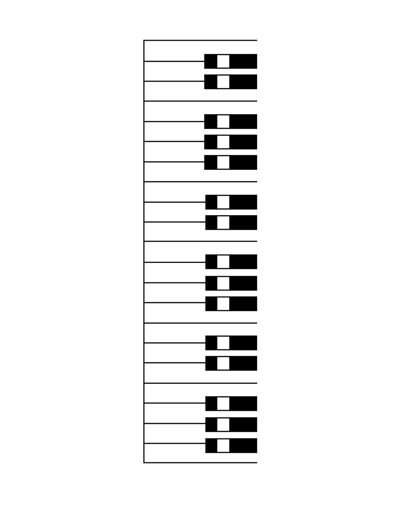 keyboard coloring worksheet custom design your own flashcards with these free files coloring keyboard worksheet