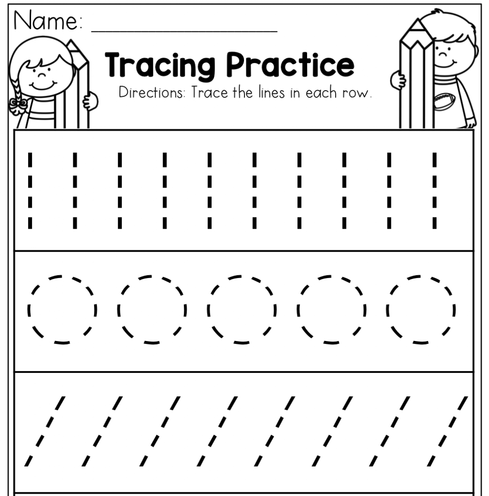 kids tracing pictures animals trace line worksheet for kids crafts and kids pictures tracing