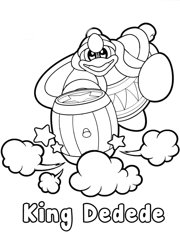 kirby coloring pictures coloring pages to print of kirby coloring home kirby coloring pictures