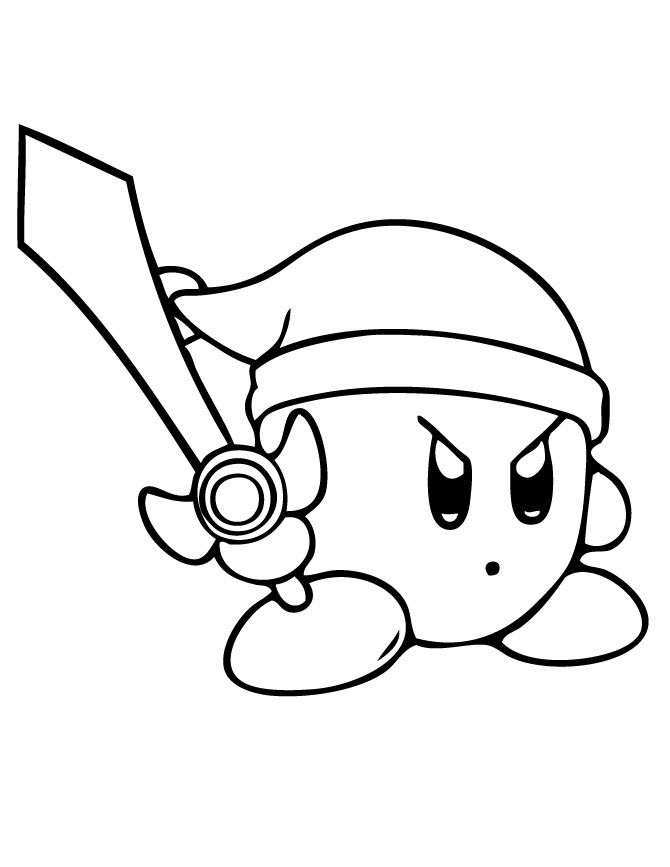 kirby coloring pictures free printable kirby coloring pages for kids pictures kirby coloring
