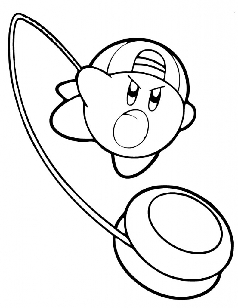kirby coloring pictures kirby coloring page coloring home kirby pictures coloring