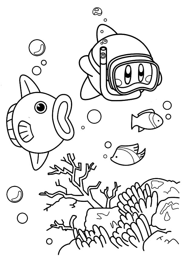 kirby coloring pictures kirby coloring pages free download on clipartmag kirby coloring pictures