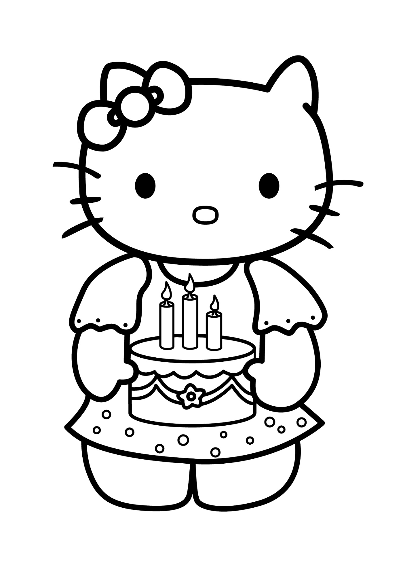 kitty coloring 8 very pretty disney hello kitty cartoon coloring pages kitty coloring